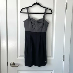 ARITZIA / WILFRED / MINI DRESS GREY BLACK